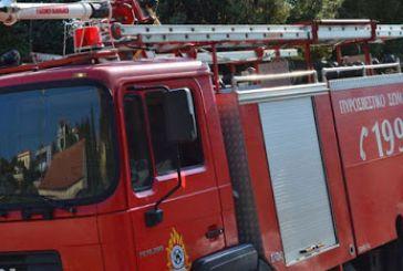 Πυρκαγιά σε αγροτική αποθήκη στην Παναγούλα Ξηρομέρου