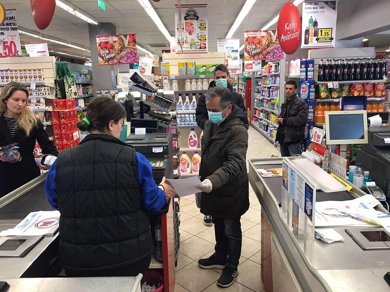 Παρέμβαση για τους εργαζόμενους στα σούπερ μάρκετ από το Σωματείο Ιδιωτικών Υπαλλήλων Αγρινίου
