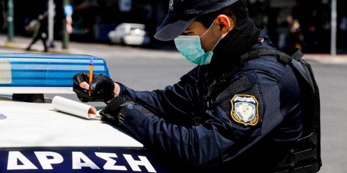 Aπαγόρευση κυκλοφορίας: 664 πρόστιμα στην Αιτωλοακαρνανία