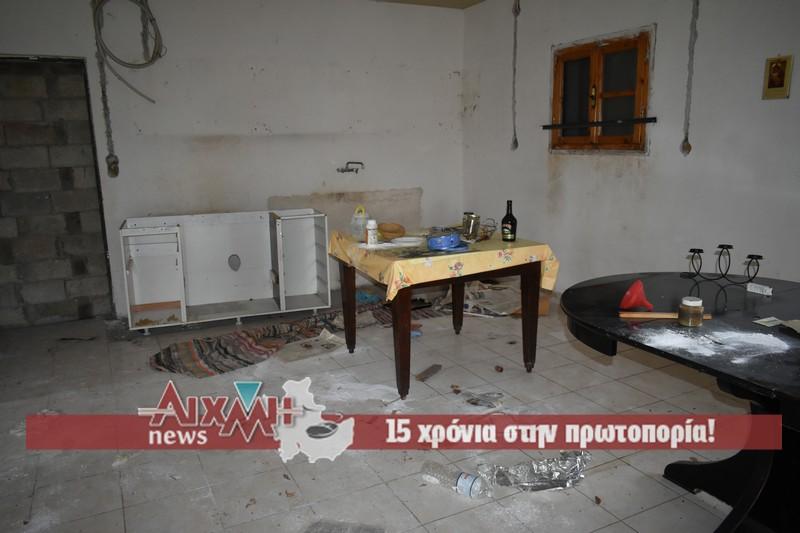 Τους τέσσερις τοίχους άφησαν οι κλέφτες σε σπίτι στην Μπούζα Αιτωλικού