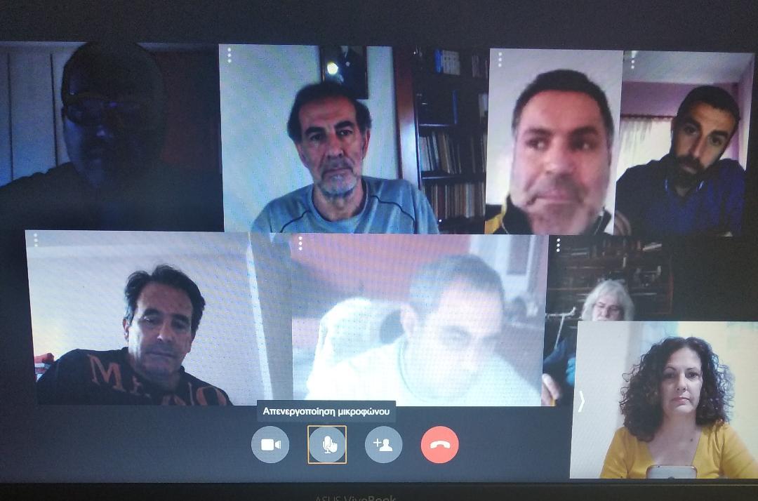 Τηλεδιάσκεψη του ΣΥΡΙΖΑ Μεσολογγίου με τον αντιδήμαρχο Ν. Καραπάνο