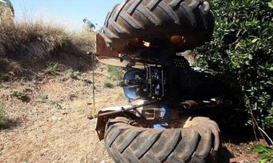 Αγρότης τραυματίστηκε σοβαρά στην Άνω Βασιλική – Ανετράπη το τρακτέρ του