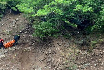 Θανατηφόρο τροχαίο για ηλικιωμένο στα Άγραφα- Έπεσε σε χαράδρα 15 μέτρων