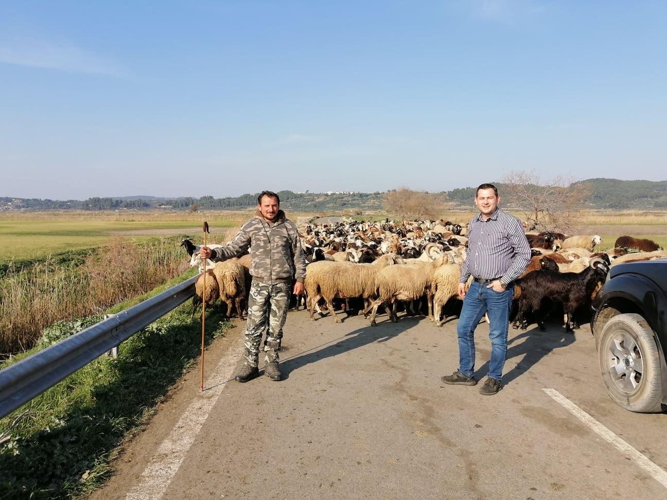 Αυτοψία του Αντιπεριφερειάρχη Αγροτικής Ανάπτυξης σε αγροτικές περιοχές