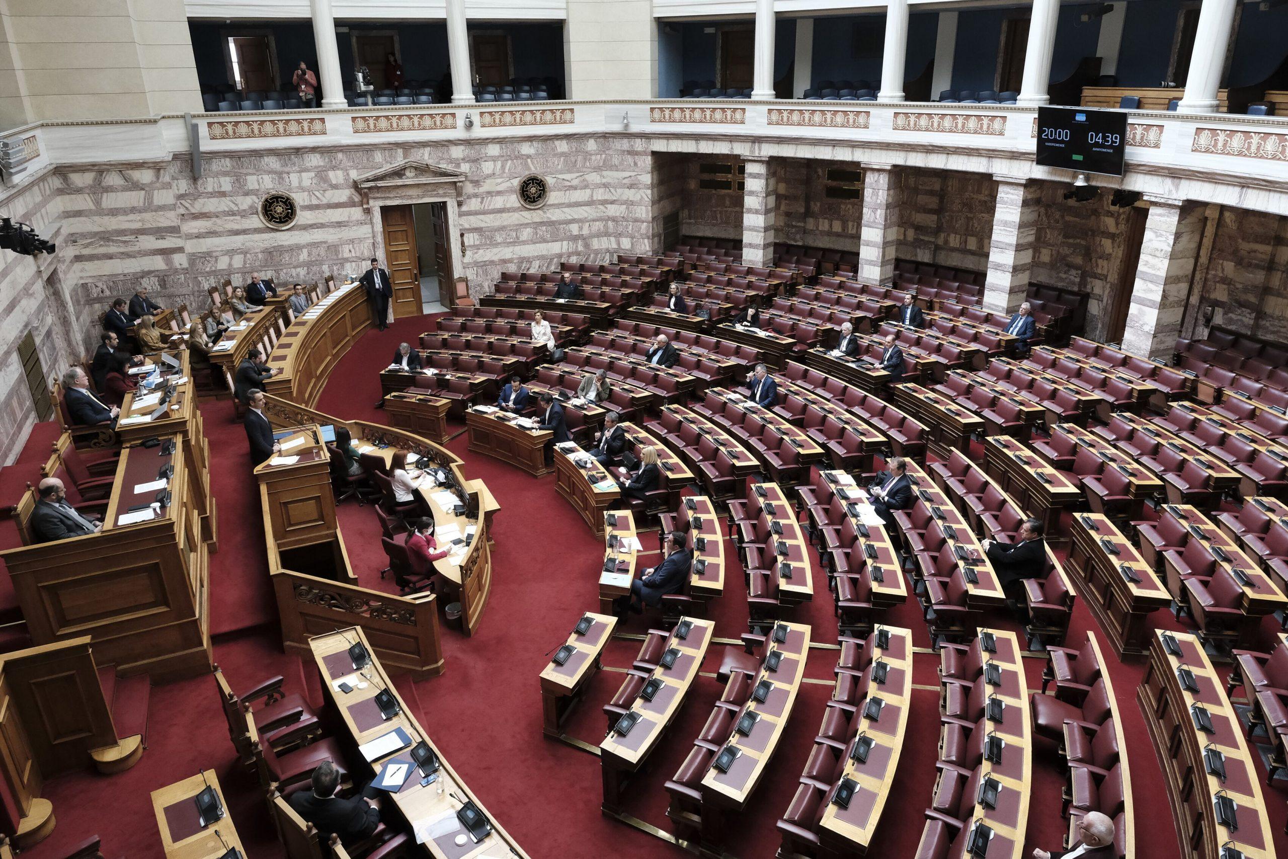 Κυρώθηκε η συμφωνία με την Αίγυπτο για την ΑΟΖ – Υπερψήφισαν 178 βουλευτές