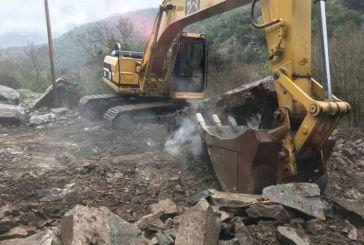 Άμεση παρέμβαση της Περιφέρειας για την κατάπτωση στο Χάνι Ρέρεσης