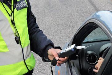 Ιόνια Οδός: Σύλληψη μεθυσμένου οδηγού στο ύψος της Κλόκοβας