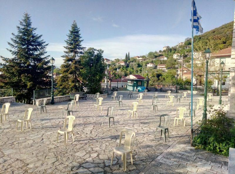 """""""Αδειες καρέκλες"""" και σε ένα χωριό της Αιτωλοακαρνανίας!"""
