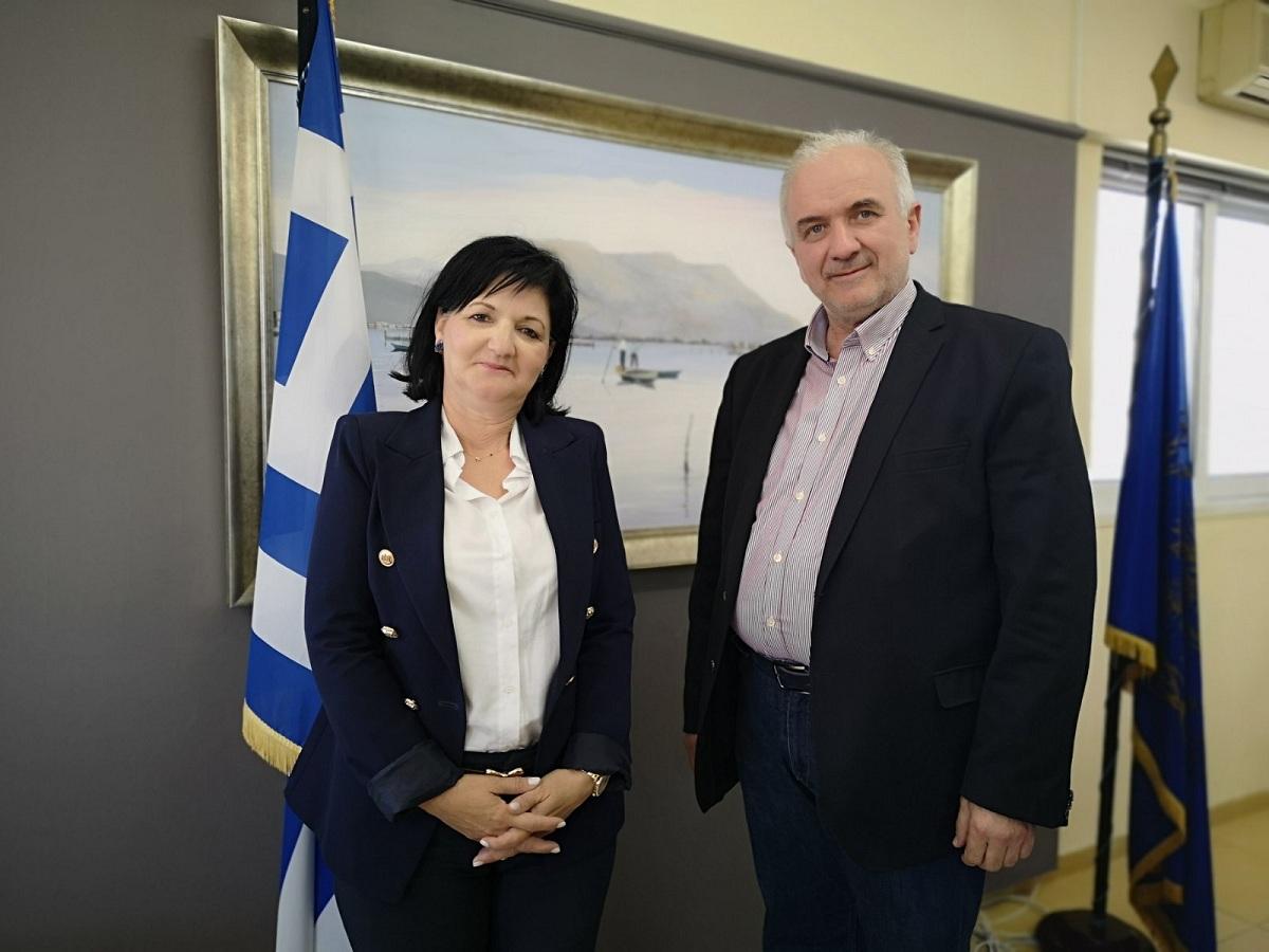 Συνεργασία Κώστα Λύρου και Μαρίας Σαλμά για θέματα πολιτικής προστασίας
