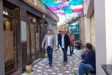 """Παπαναστασίου- έμποροι: """"Μένουμε Αγρίνιο, κάνουμε ασφαλείς αγορές, κερδίζουμε όλοι"""""""