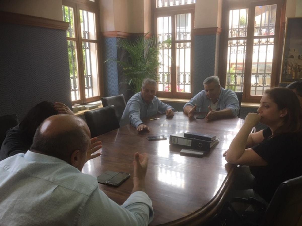 Σύσκεψη στο Δημαρχείο Ναυπακτίας για την ασθένεια των πλατάνων εν όψει της επίσκεψης ειδικού κλιμακίου