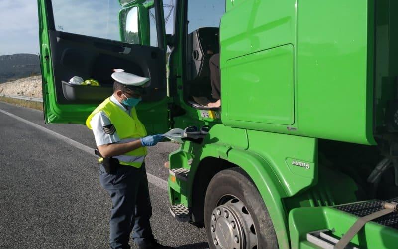 """Ιόνια Οδός : Εννέα φορτηγά με """"πειραγμένους"""" ταχογράφους εντοπίστηκαν στην  (φωτο)"""