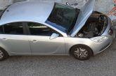 Απεγκλωβισμός φιδιού από μηχανή αυτοκινήτου στο Μεσολόγγι