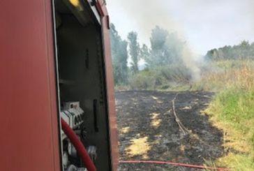 Κινητοποίηση για φωτιά στα Αμπάρια Παναιτωλίου