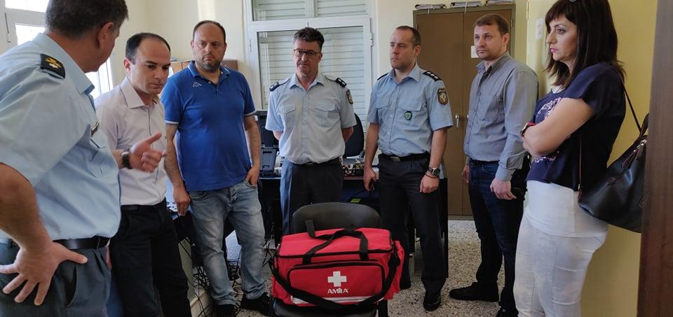 Συνδράμει με υγειονομικό υλικό Αστυνομικά Τμήματα της Αιτωλοακαρνανίας η Περιφέρεια