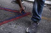Συλλήψεις για γκράφιτι στο Παναιτώλιο