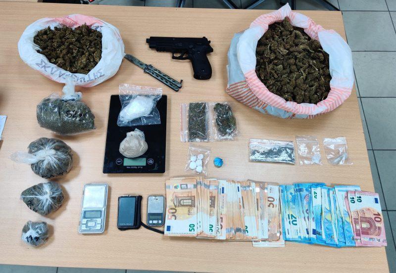 Εξάρθρωση κυκλωμάτων που διακινούσαν ναρκωτικά στην Ηλεία