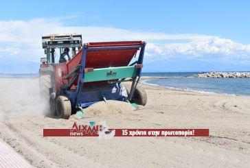Από ψιλό κόσκινο περνάει η παραλία της Τουρλίδας