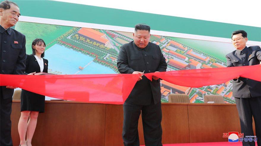 Κιμ Γιονγκ Ουν: Πρώτη δημόσια εμφάνιση μετά από 20 ημέρες σε εγκαίνια εργοστασίου