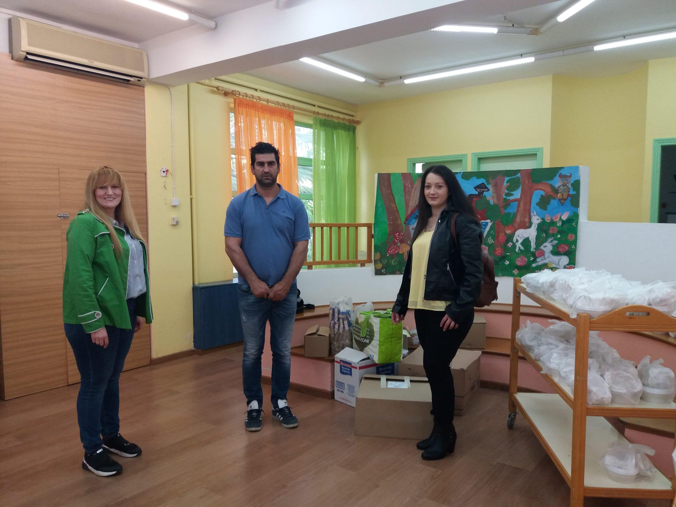 Προσφορά αλληλεγγύης από τον Σύλλογο Γονέων Κηδεμόνων των Παιδικών και Βρεφονηπιακών Σταθμών Δήμου Αγρινίου