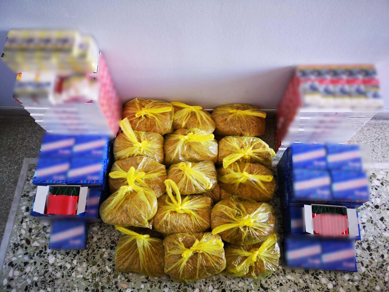 Αιτωλοακαρνανία: λαθραία καπνικά προϊόντα σε κατάστημα τροφίμων- μια σύλληψη