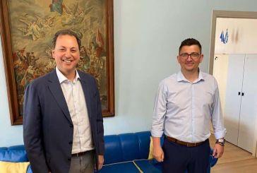 Συνάντηση εργασίας Λιβανού – Τριανταφυλλάκη και επίσκεψη στο ΚΥ Αστακού