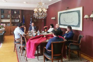 Συνάντηση  Λιβανού με αντιπεριφερειάρχες