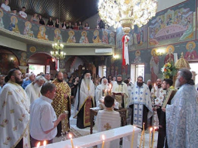 Η Μεσάριστα Αγρινίου γιόρτασε την ανακομιδή λειψάνων του Αγίου Νικολάου
