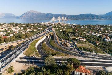 Ολυμπία Οδός: Ασφαλτικές εργασίες βαριάς συντήρησης στην περιοχή σύνδεσης του Κόμβου Ρίου με τη Γέφυρα