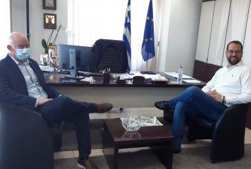 Τον Περιφερειάρχη Δυτικής Ελλάδας επισκέφθηκε ο Γιώργος Παπανδρέου