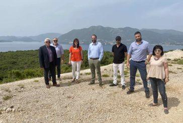 Φαρμάκης και Σταρακά στην εγκατάσταση εργολάβου στον οδικό άξονα Πογωνιά – Πλαγιά