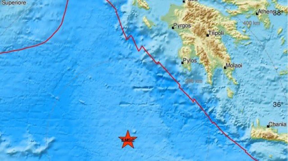 «Κουνήθηκε» και η Αιτωλοακαρνανία από ισχυρό σεισμό νότια της Πύλου