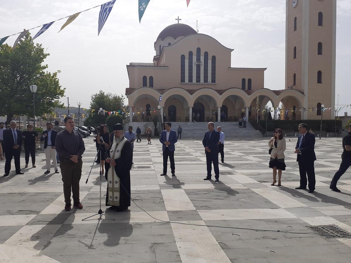 Σε κλίμα συγκίνησης στον Άγιο Κωνσταντίνο το μνημόσυνο για τα θύματα της Ποντιακής Γενοκτονίας