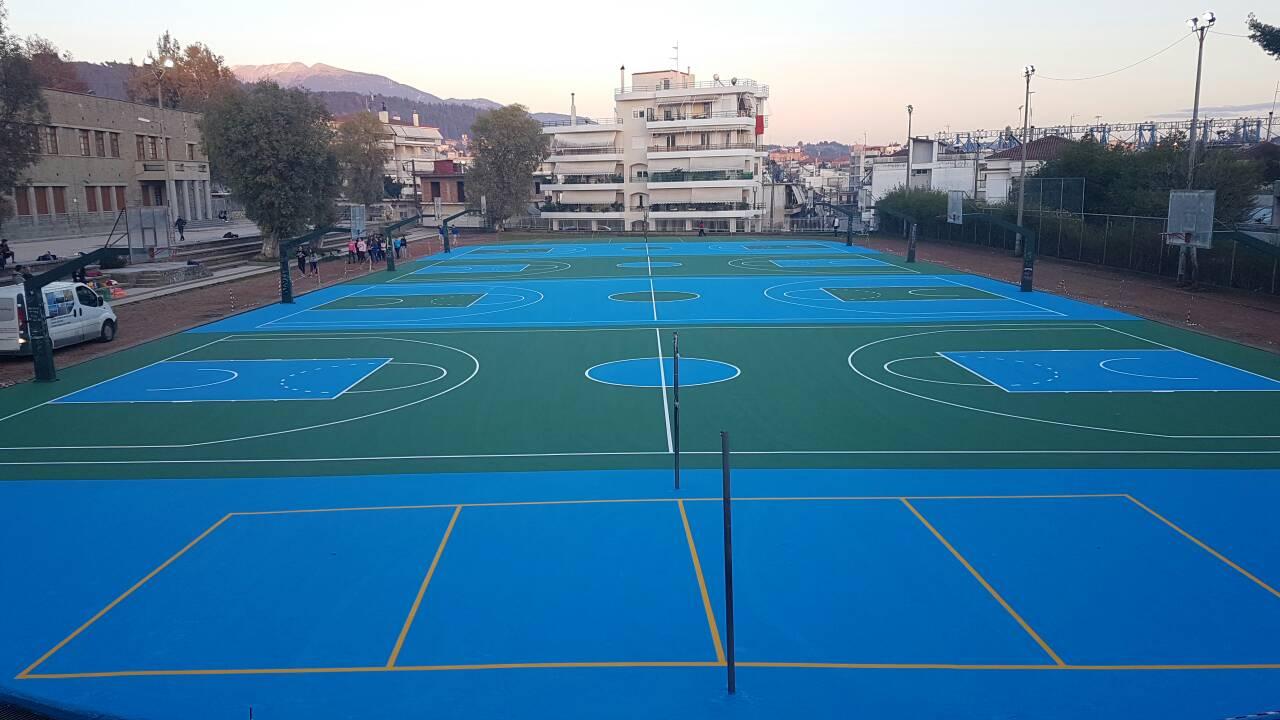 Δήμος Αγρινίου: συντηρήσεις σε αύλειους χώρους σχολείων