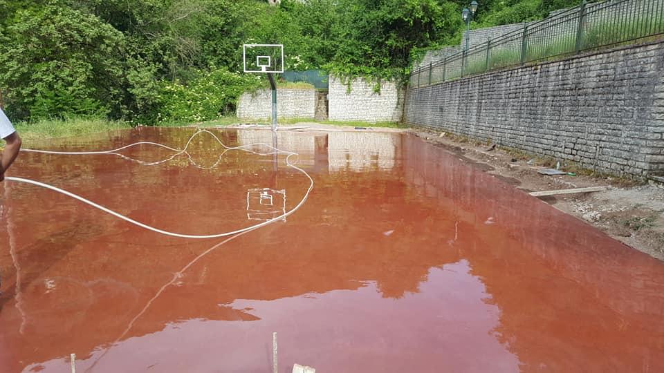 Γήπεδο μπάσκετ στην Ανάληψη χάρις σε ανώνυμο δωρητή