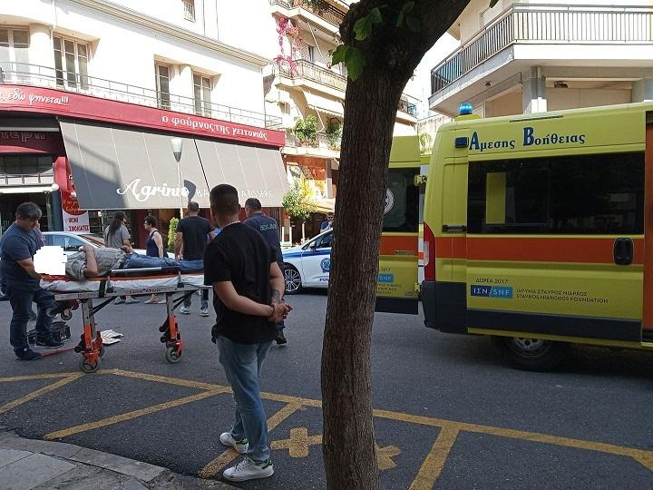 Nέος τραυματισμός δικυκλιστή σε τροχαίο στο κέντρο του Αγρινίου