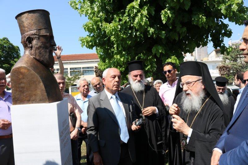 Τρία χρόνια από τα αποκαλυπτήρια της προτομής του Ιερέα Κωνσταντίνου Κακαβούλα στην Αγία Τριάδα Αγρινίου