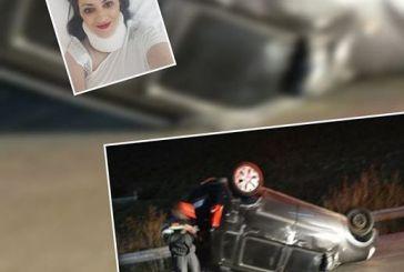 """Τραυματίας σε τροχαίο η περιφερειακή σύμβουλος Αγγελική Χαλιμούδρα-""""η ζώνη μου έσωσε τη ζωή """" λέει"""