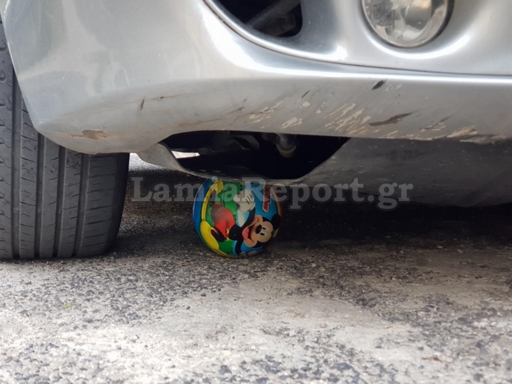 Λαμία: 85χρονη οδηγός παρέσυρε 5χρονο αγοράκι – Κάτω από τις ρόδες ο μικρός
