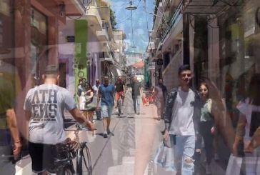 """""""Στηρίζουμε την τοπική αγορά"""" το μήνυμα των εμπόρων του Μεσολογγίου (βίντεο)"""