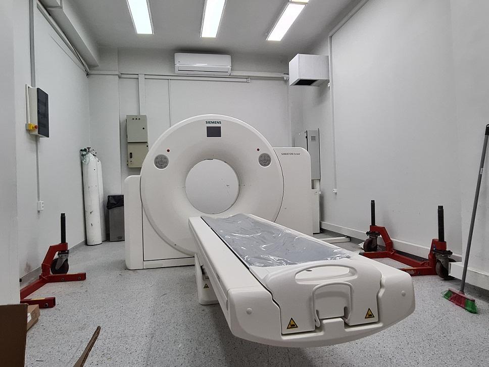 Πλησιάζει η ώρα λειτουργίας του νέου αξονικού στο Νοσοκομείο Μεσολογγίου