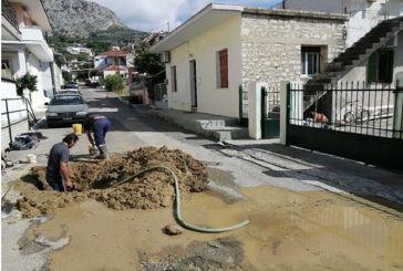Διακοπή νερού στον Αστακό λόγω βλάβης στο εσωτερικό δίκτυο