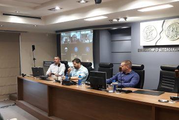 Συζήτησαν στο Αγρίνιο για «επιχειρείν και COVID-19» και ηλεκτρονικό εμπόριο