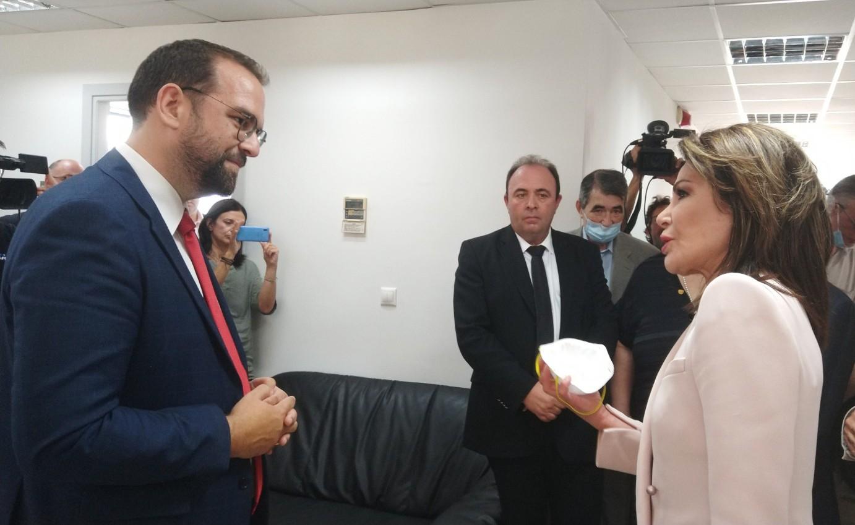 Στον Περιφερειάρχη η Πρόεδρος της Επιτροπής «Ελλάδα 2021»