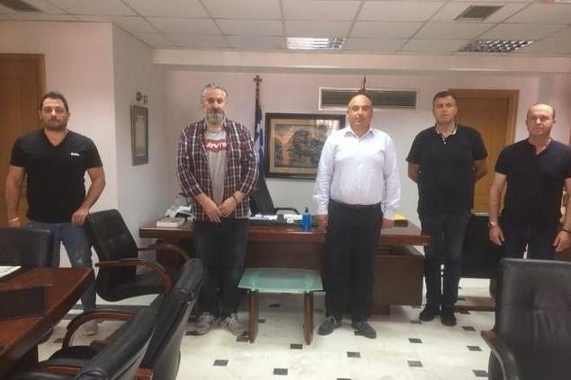 Συνάντηση του Δημάρχου Ναυπακτίας με την Ένωση Αστυνομικών Υπαλλήλων Αιτωλίας