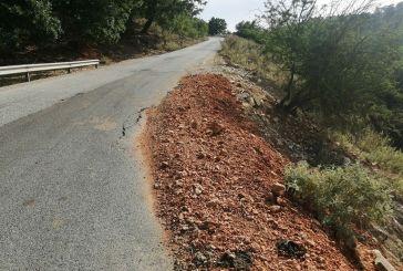 Σε άθλια κατάσταση ο δρόμος από κόμβο Πλατυγιαλίου μέχρι Αστακό