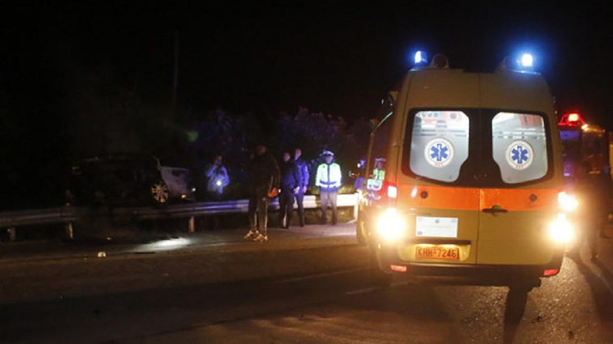 Μεσολόγγι: Αυτοκίνητο έπεσε στη θάλασσα στο δρόμο της Τουρλίδας