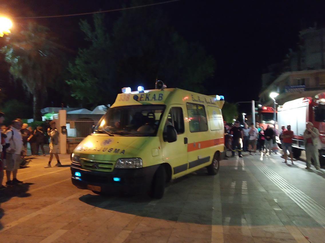 Σοκαριστικό γεγονός: σοβαρός τραυματισμός εφήβου από πτώση από οροφή της Βιβλιοθήκης Αγρινίου