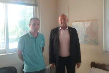 Επίσκεψη του προέδρου του ΕΚΑΒ στον Τομέα Αγρινίου