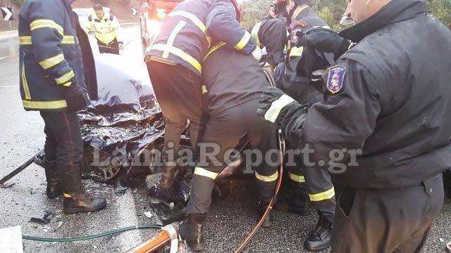 Φωκίδα: Ένας νεκρός και μία τραυματίας μετά από εκτροπή οχήματος